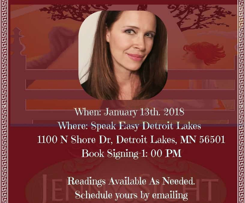 Book Signing & Private Readings